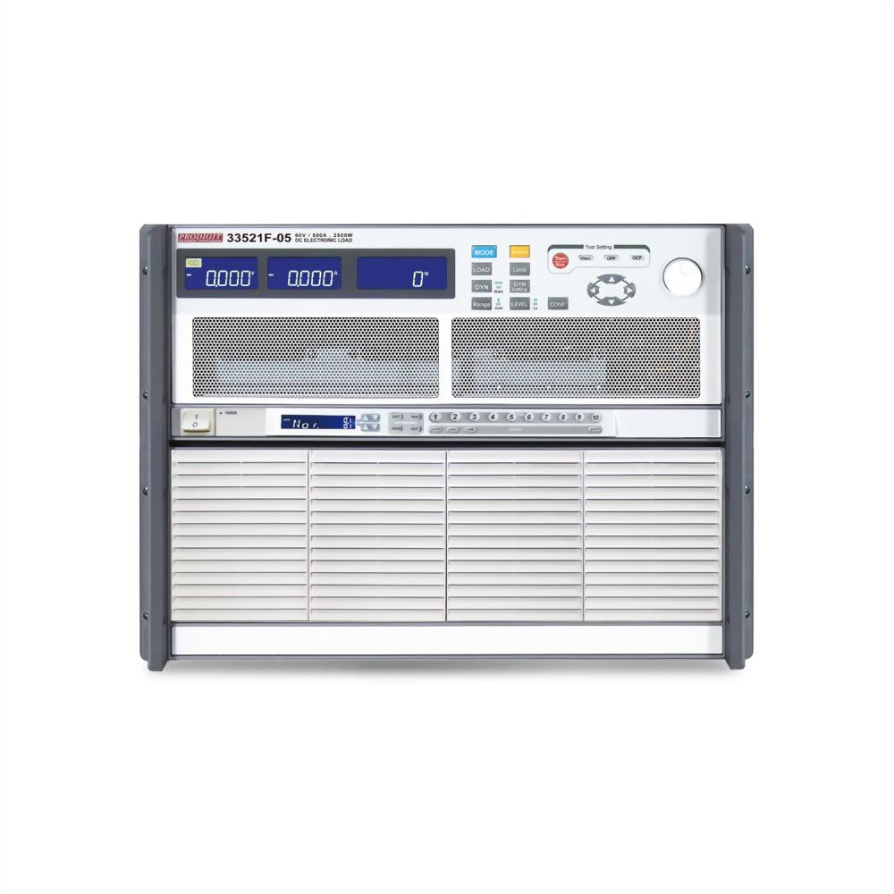 33521F-05 高功率直流電子負載 60V , 500A , 2500W