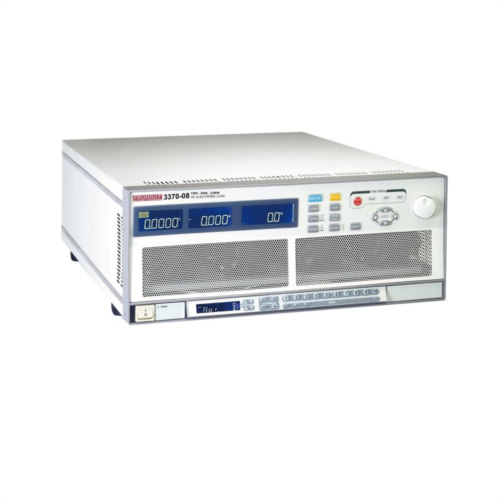 3370-08 超高功率直流电子负载 120V , 240A , 3.0KW