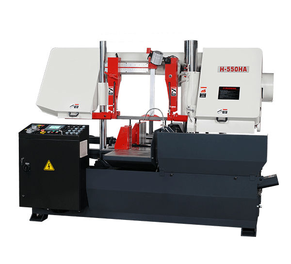 COLUMN TYPE FULLY AUTOMATIC BAND SAWS MACHINE