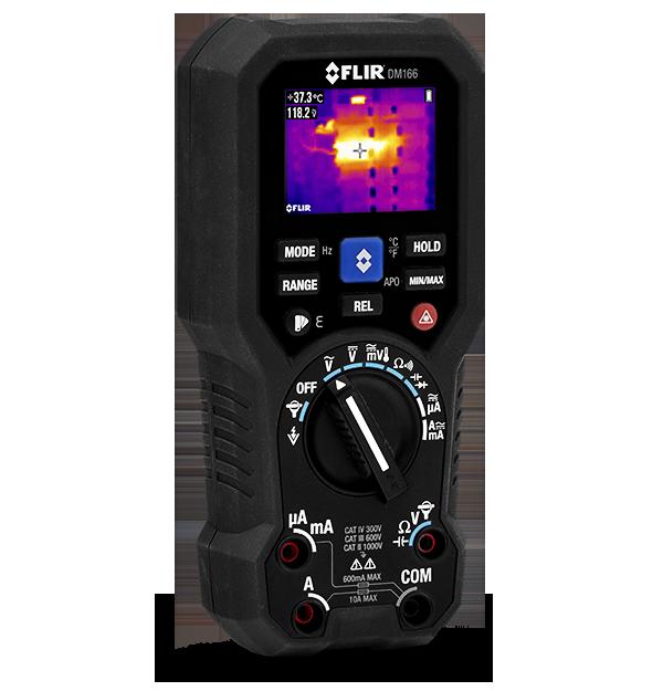 FLIR DM166紅外線熱影像真有效值數位萬用表