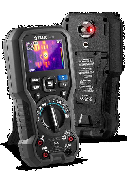 FLIR DM284工業級紅外線熱影像數位萬用表
