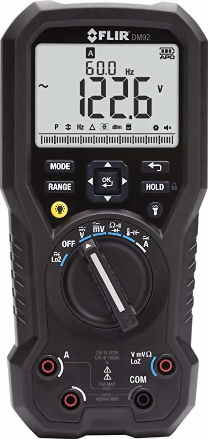 FLIR DM92 真有效值數位工業萬用表