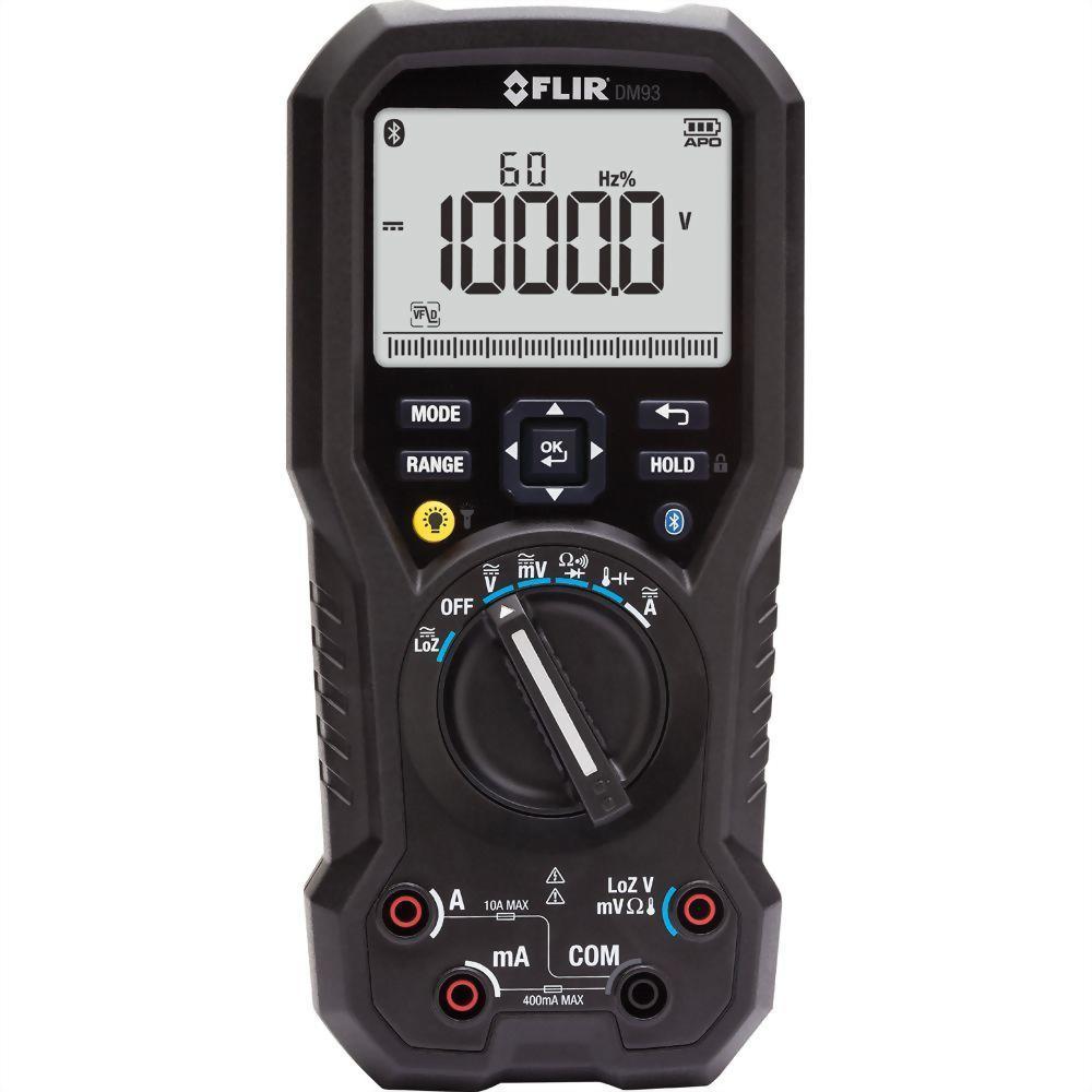 FLIR DM93 真有效值數位工業萬用表