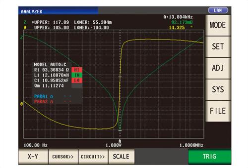 HIOKI IM9000 等效電路解析軟體