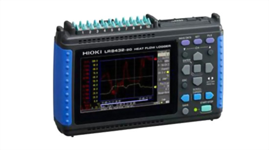 HIOKI LR8432 ヒートフローレコーダー