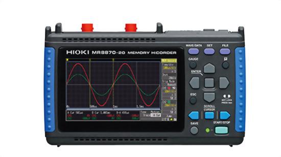 HIOKI MR8870-20 攜帶式波形記錄器