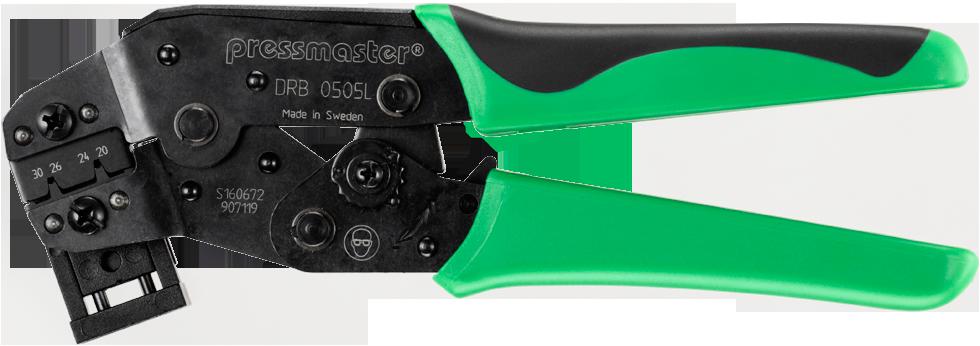Pressmaster DRB 0505 L 圧着ペンチ