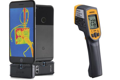 測溫槍和熱顯像儀有什麼不同?
