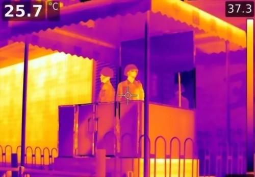 紅外熱像儀能穿透衣物透視隱私嗎?