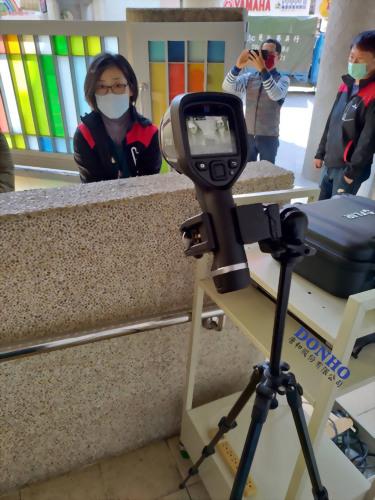 唐和股份有限公司 FLIR熱像儀E6XT 全台裝機實錄_台北市光仁國小