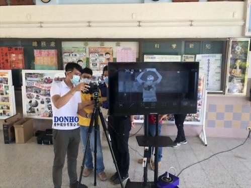 唐和股份有限公司 FLIR熱像儀T600全台裝機實錄_南榮國中
