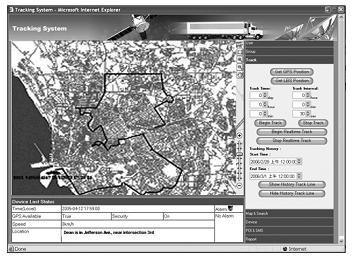 Tracking System Server