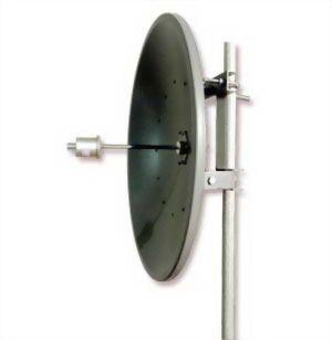 2.4GHz 21dBi Dish Antenna