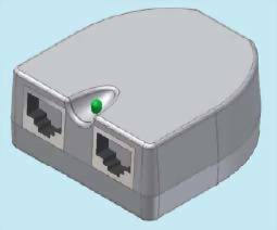 Base Unit for Power Over Ethernet