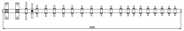 Directional Yagi Antenna for 2.4 ~2.5 GHz