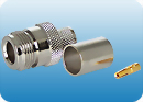 N-Female connector for CFD-400 cable
