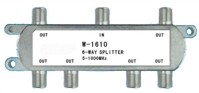 5~1000MHz CATV SPLITTERS