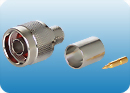 N-Male connector for CFD-400 cable
