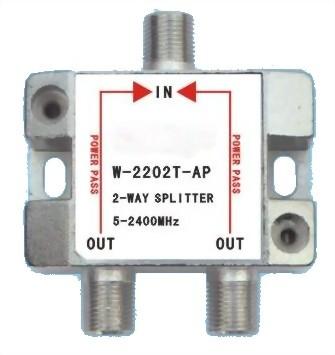 5~2400MHz SMATV 2-WAY SPLITTER