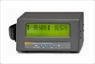 Fluke 1529四通道可攜式測溫儀-白金電阻|熱敏電阻|熱電偶