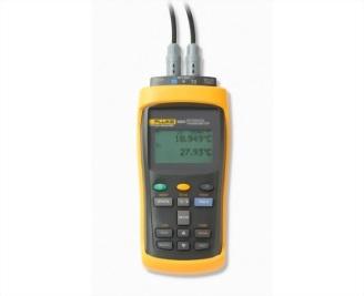 Fluke1523|1524手持式參考測溫儀-白金電阻|熱敏電阻|熱電偶