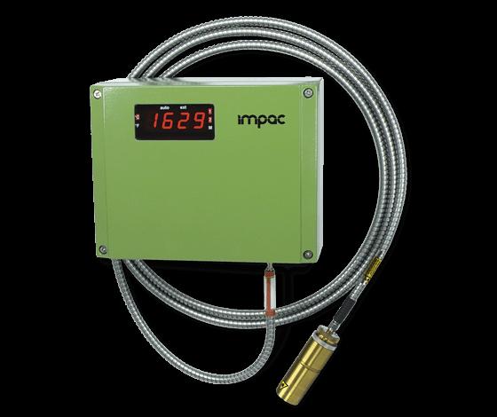 雙色溫光纖式測溫儀-鑄鐵澆注