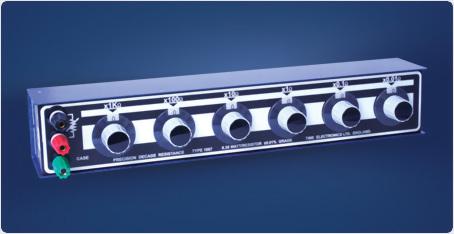 高精度十進位電阻箱 10mΩ to 12kΩ