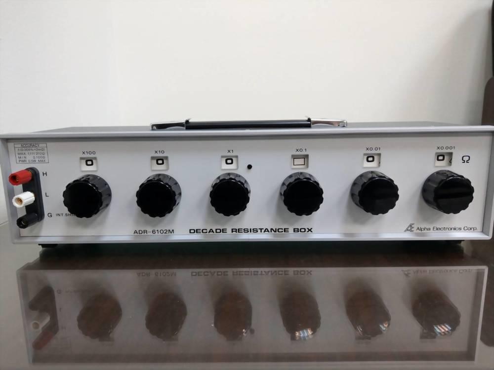 標準電阻箱|標準電阻