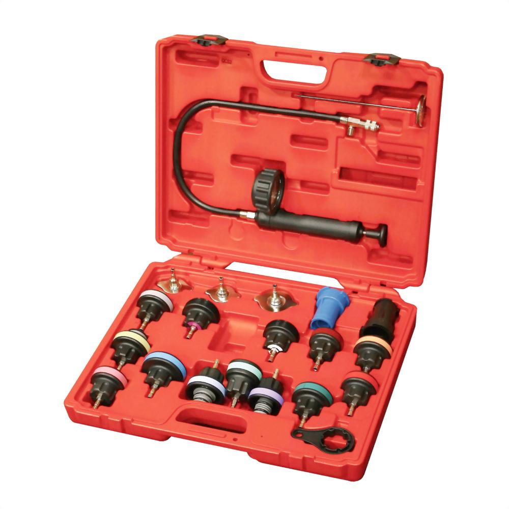 Universal Radiator Pressure Tester Kit (21 pcs)