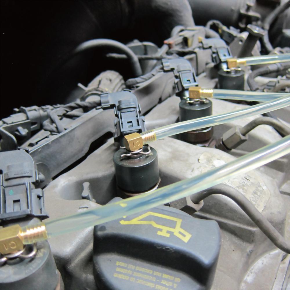 adaptors for BOSCH-01, SIEMENS-02, DENSO-03 and DELPHI injectors