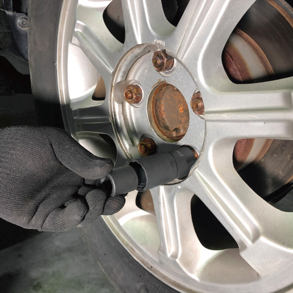 special socket for removing wheel nuts