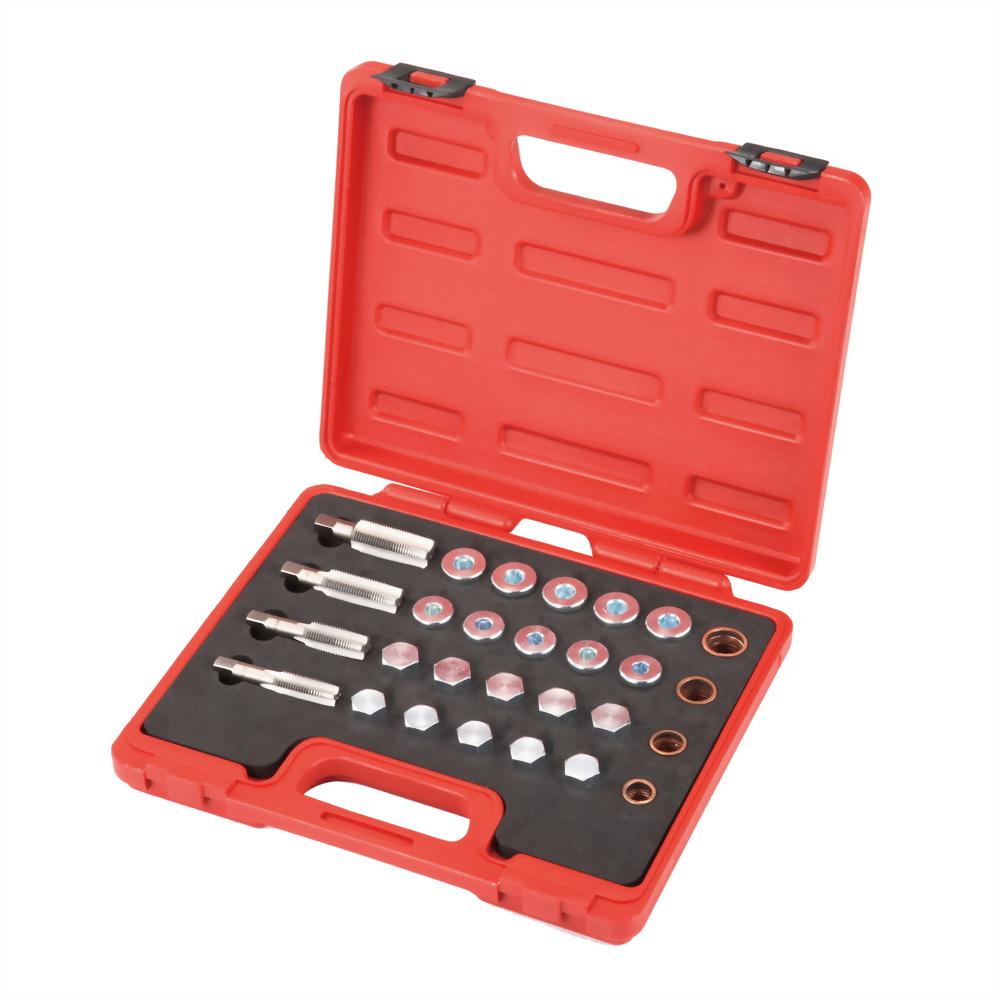 Renault 77 03 075 210 and 77 03 075 348 oil drain plug repair tool set