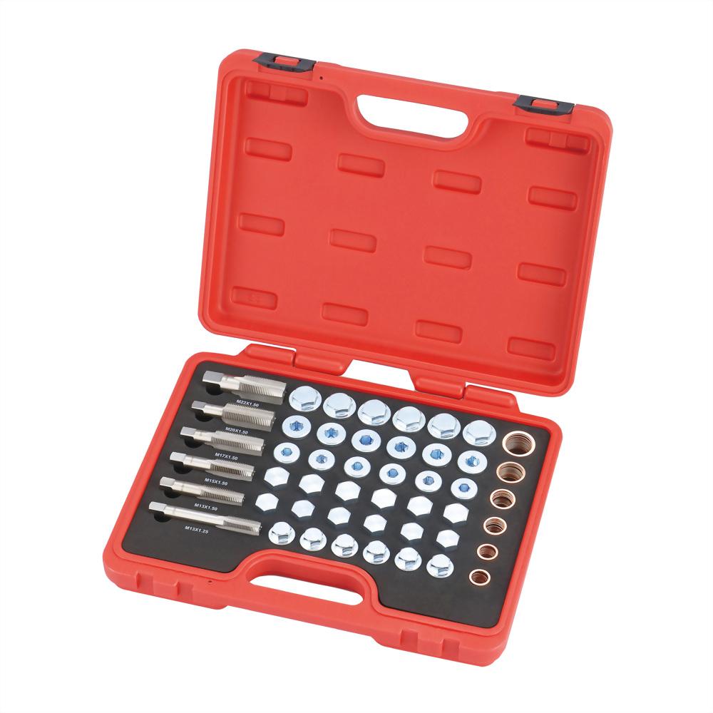 Oil Drain Plug Repair Kit with Copper Washers (114 pcs)