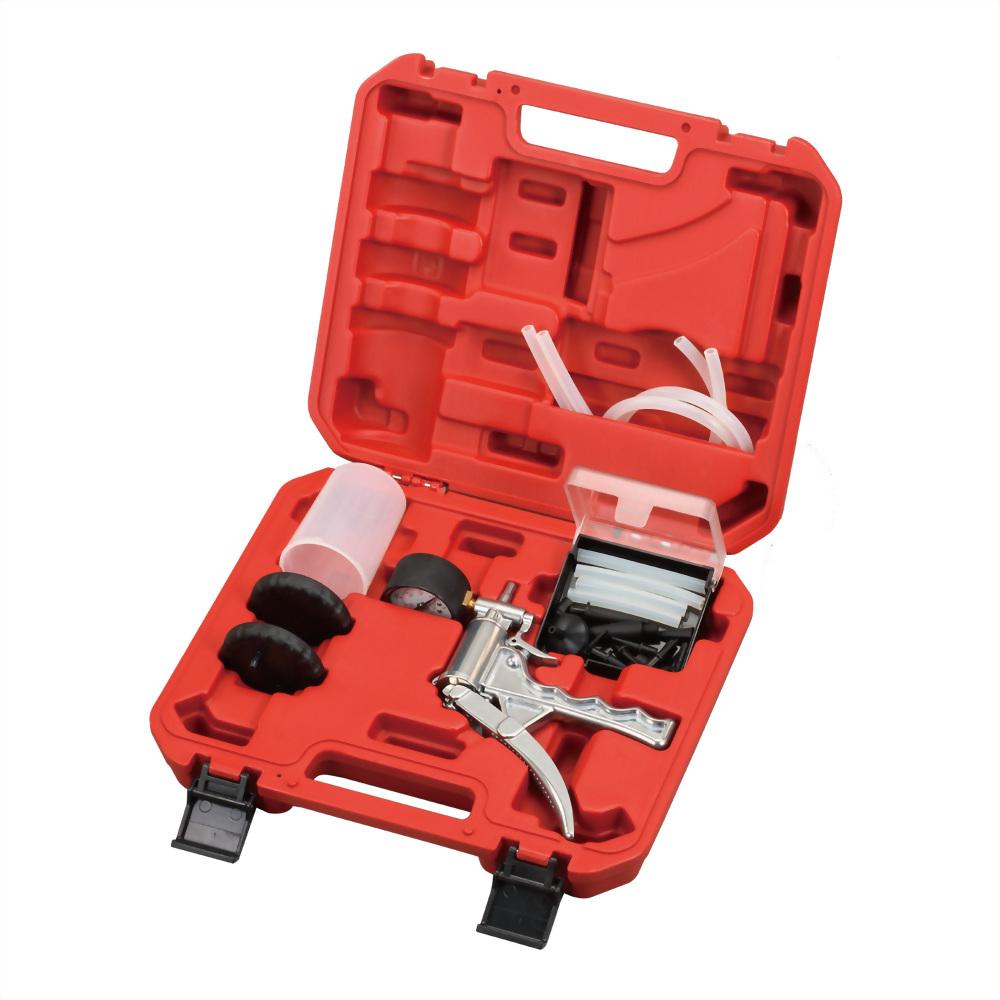 Hand Brake Bleeder Tester Bleeder Vacuum Pump Gauge Tool Kit