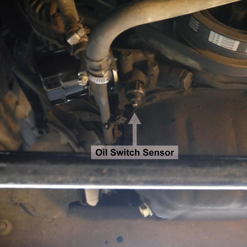 Oil Pressure Meter Test Kit Tester Gauge