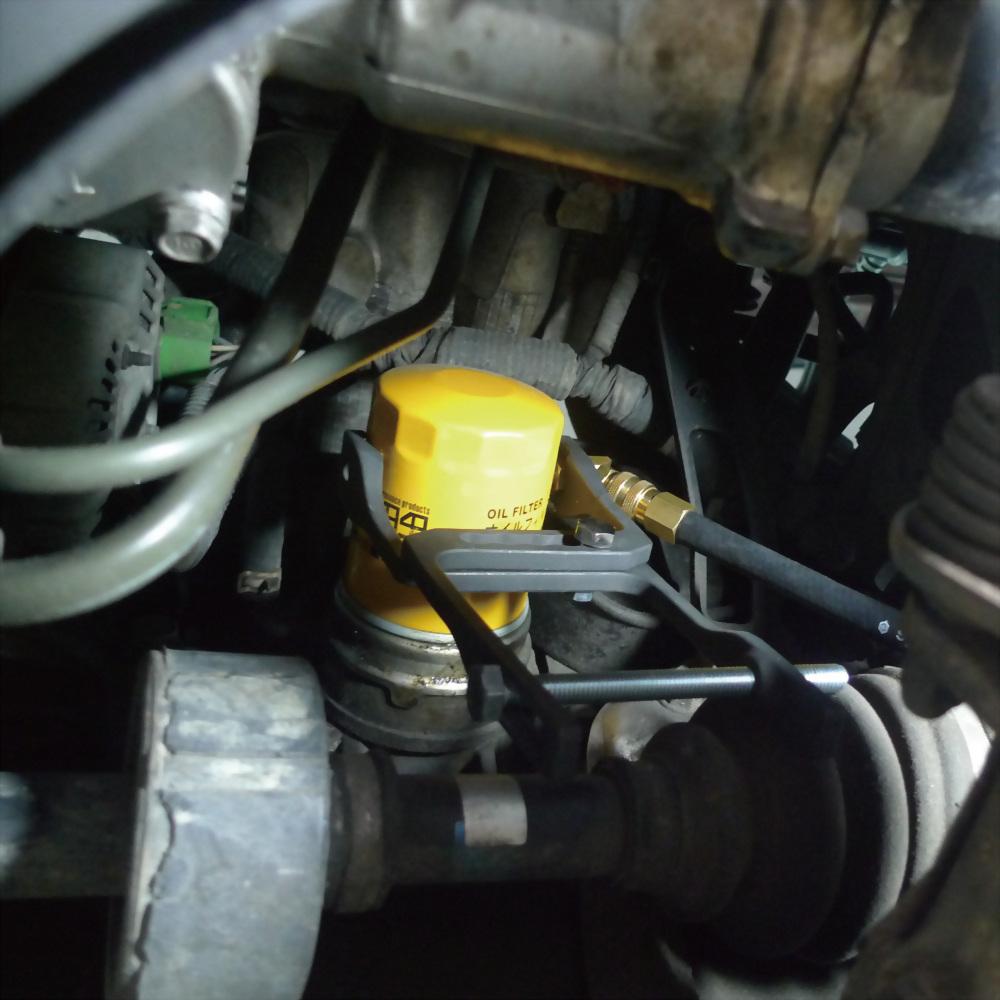ENGINE OIL PRESSURE TEST TESTER KIT SPIN ON OIL FILTERS