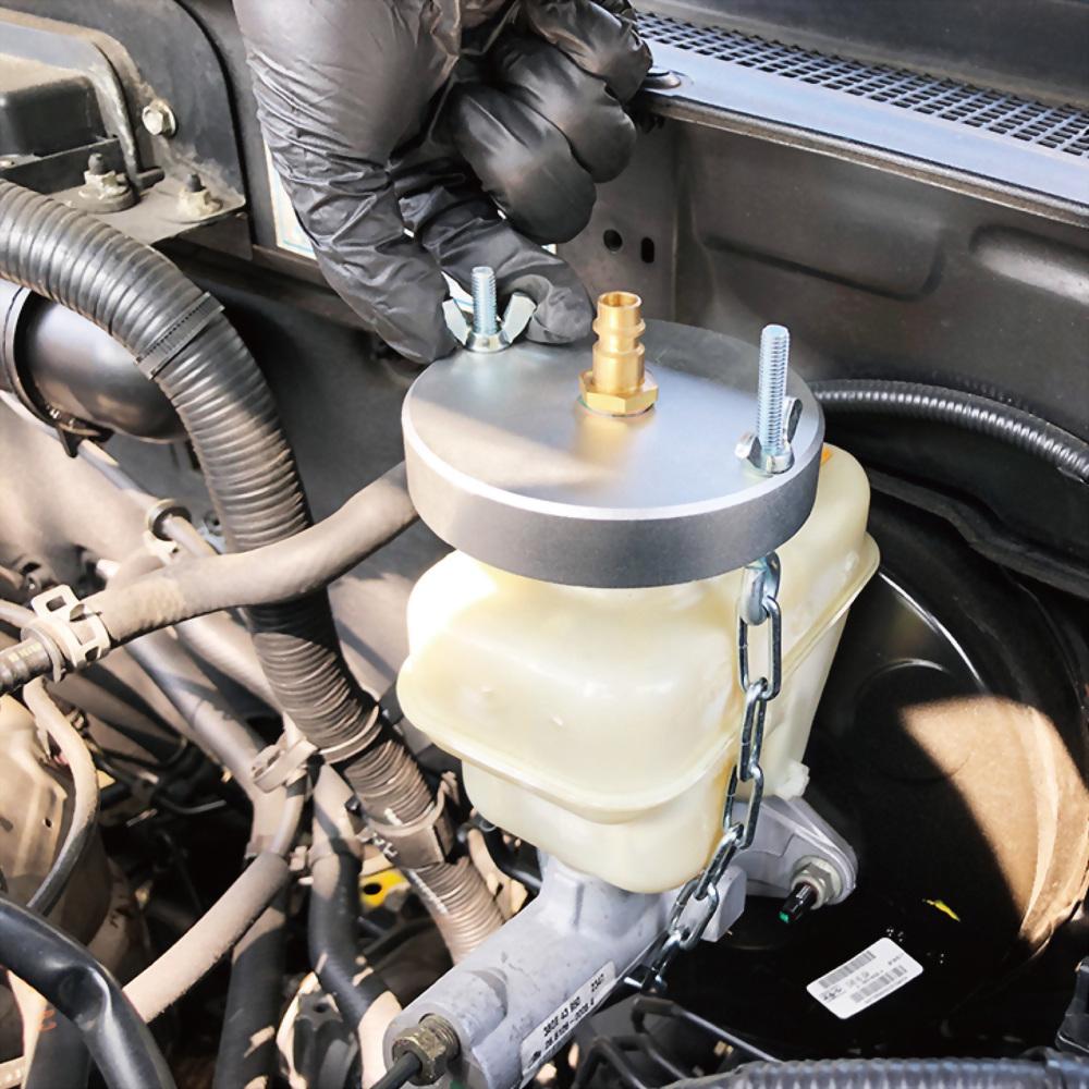 fit all brake cap for power bleeding