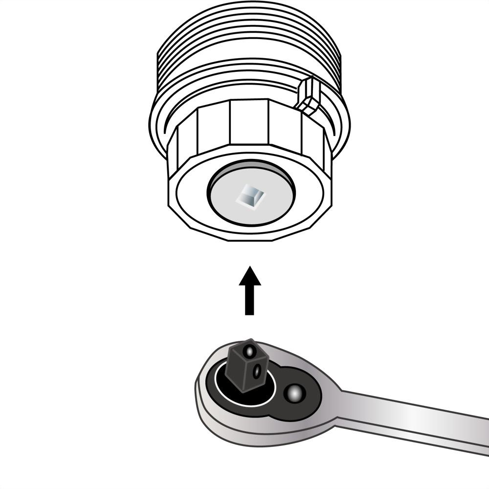 toyota oil filter drain tool