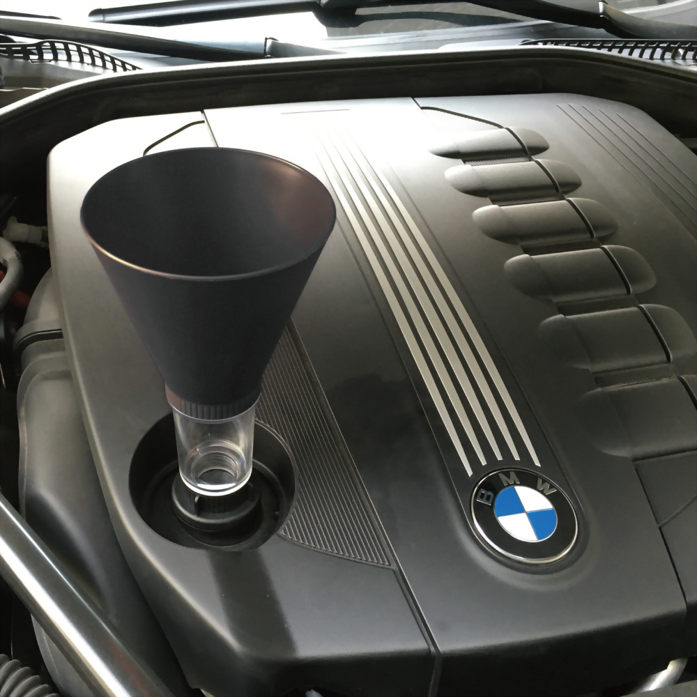 BMW MERCEDES BENZ OIL FUNNEL