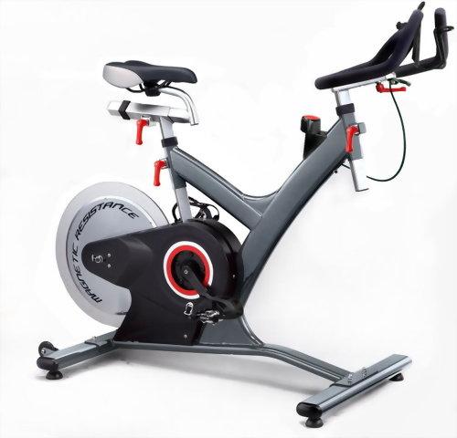 Rear drive indoor cycling bike