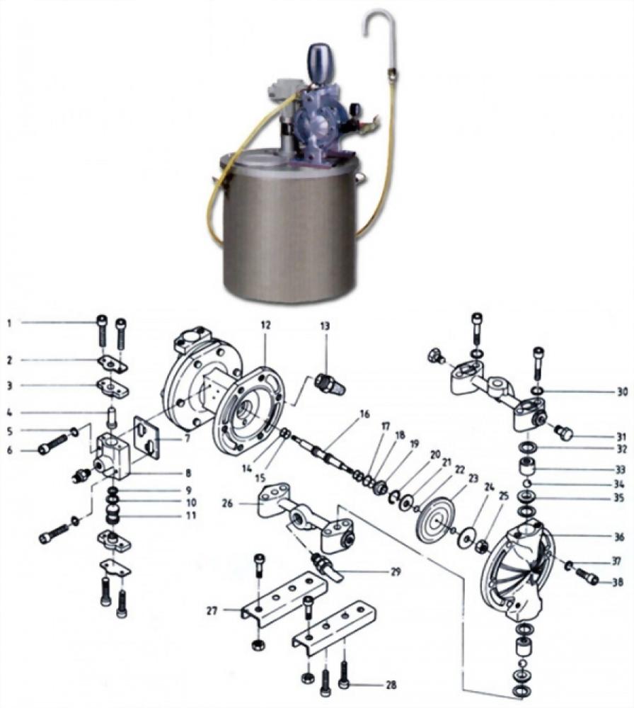 油墨循環供給泵