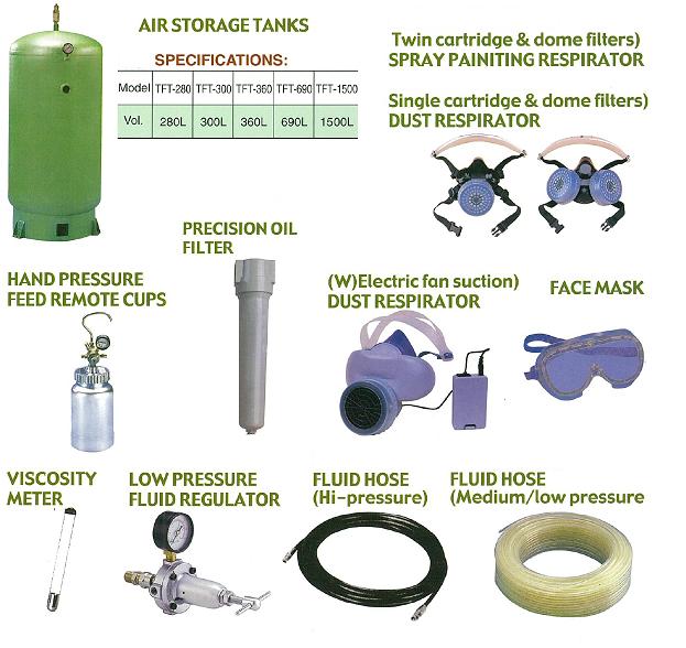 Air Storage Tanks & Accessories