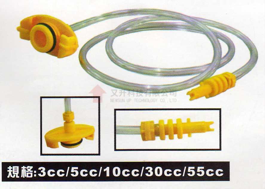 針筒連接套頭組件