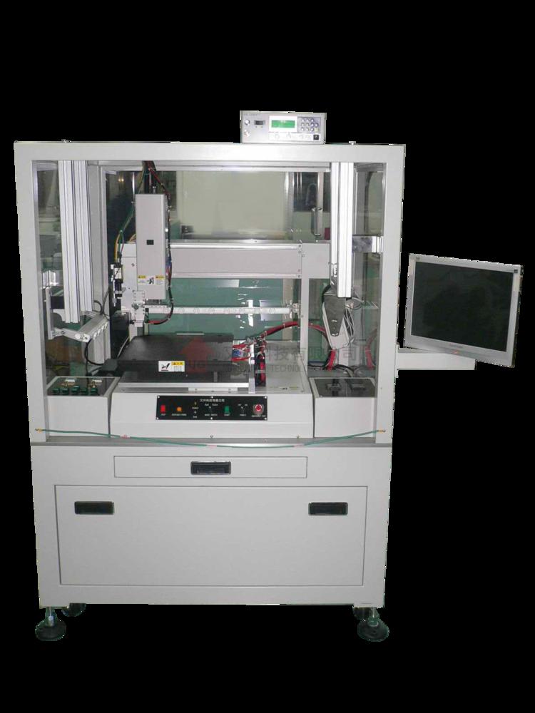 CCD影像對位點膠機