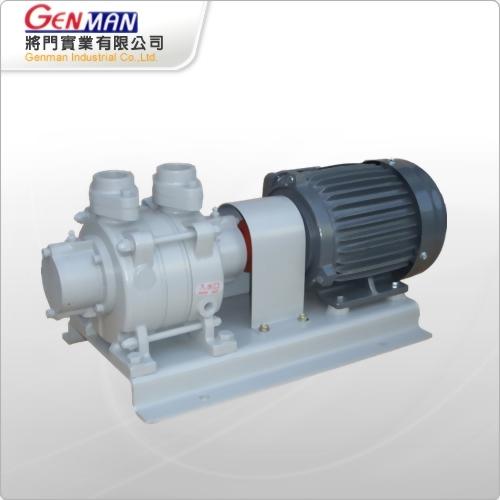液封式真空帮浦-单段式-GW-1H - 将门实业有限公司