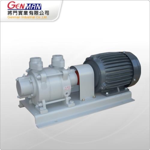 Liquid ring vacuum pumps_Single stage model-GW-2H - Genman Industrial