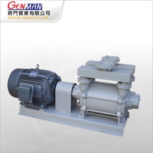 液封式真空幫浦-單段式-GW-25 - 將門實業有限公司