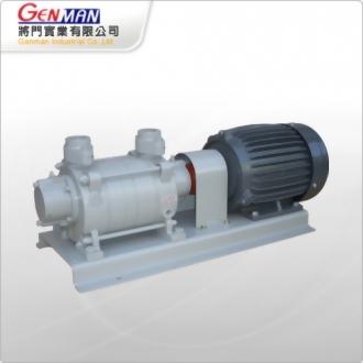 液封式真空幫浦-雙段式-GWV-2H - 將門實業有限公司