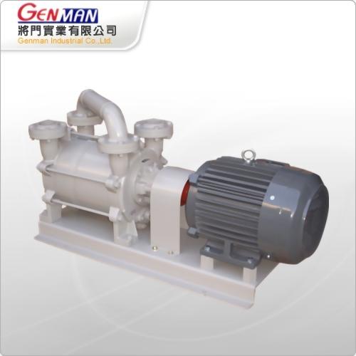 液封式真空帮浦-双段式-GWV-7D - 將門實業有限公司