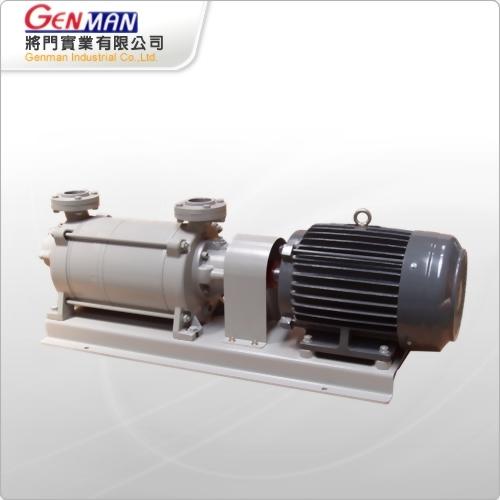 液封式真空幫浦-雙段式-GWV-10 - 將門實業有限公司